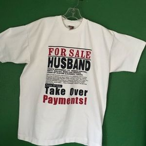 Husband For Sale T-shirt Vintage